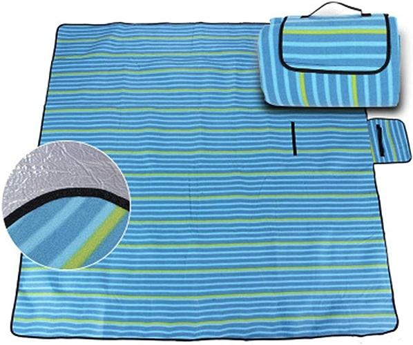 Pessica Tapis de Pique-niquer extérieur humiditéaire Oxford Tissu portable Pique-niquer Tapis de Pique-niquer imperméable Multifonctionnel Durable Camping Couverture,300cm300cm