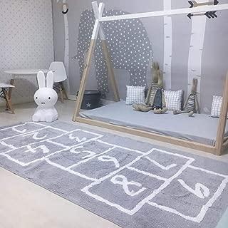 Best hopscotch rug grey Reviews