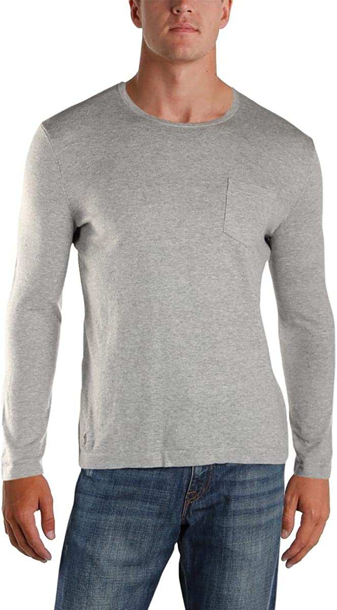 Polo Ralph Lauren Andover Grey Heather Men's Pullover Sweater, US 2X-Large