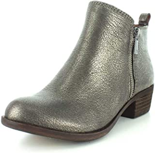 0dffc986c047 Amazon.com  Gold - Ankle   Bootie   Boots  Clothing