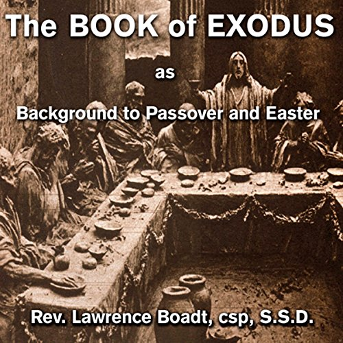 The Book of Exodus audiobook cover art