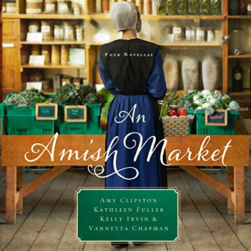 An Amish Market audiobook cover art