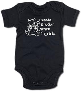 G-graphics Baby Body Tausche Bruder gegen Teddy 250.0032