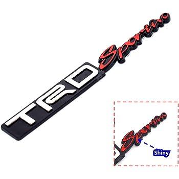 4Wd Chrome Black Metal Chrome Badge Emblem 3D Car Trunk Side Auto Logo Fender Adhesive Replacement Decal Sticker Truck Van Sports Car TOTUMY 1 Piece