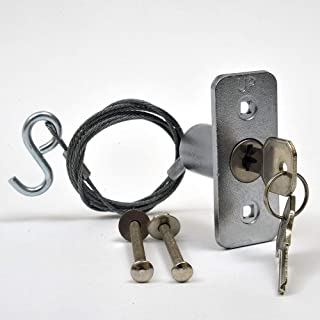 garage door opener emergency release lock