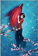 Lanxing 300/500/1000 Pieza Rompecabezas for niños, Pintura de la Historieta del Animado Big Fish Begonia Arte, Educación Jigsaw Puzzle Juegos Familiares for los Juguetes, ( Color : C , Size : 500pc )