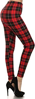 Best red tartan leggings Reviews