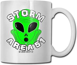 Tasse à café en céramique Storm Area 51 Ideas Mug Best Family and Birthday Present Cup