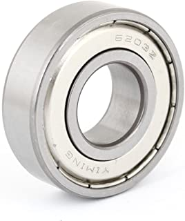 6203Z Miniature Radial Rillenkugellager 17mm x 40mm x 12mm de