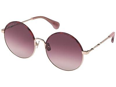 DIFF Eyewear Isla (Rose Gold/Rose Gold) Fashion Sunglasses