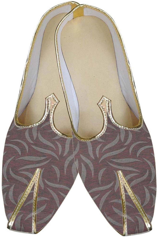 INMONARCH Mens Copper Indina Wedding shoes MJ0092