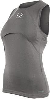 EvoShield Female G2S Sleeveless Racerback Chest Guard Compression Shirt