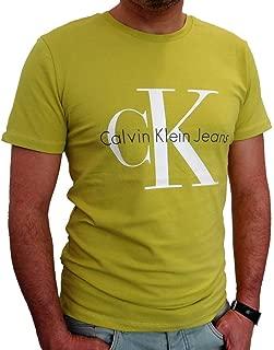 Calvin Klein Green Round Neck T-Shirt For Men