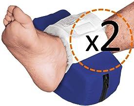OrtoPrime Verpakking met 2 hielbeschermers, waterdicht, gebogen, hielbescherming, orthopedisch, voor voeten (universele maat)