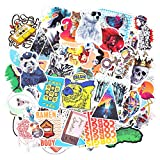 makstore 100 Stücke Cartoon Aufkleber für Laptop Autos Motorrad Fahrrad Graffiti Patches Skateboard, HD-Muster Stickers wasserdicht (Serie A)