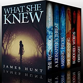 What She Knew - Super Boxset: A Riveting Mystery Series                   By:                                                                                                                                 James Hunt                               Narrated by:                                                                                                                                 Tia Rider Sorensen,                                                                                        Michaela Drew                      Length: 22 hrs and 19 mins     61 ratings     Overall 4.1