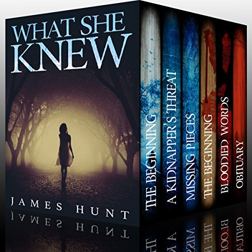 What She Knew - Super Boxset: A Riveting Mystery Series                   By:                                                                                                                                 James Hunt                               Narrated by:                                                                                                                                 Tia Rider Sorensen,                                                                                        Michaela Drew                      Length: 22 hrs and 19 mins     59 ratings     Overall 4.1