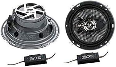 Absolute USA PRO-1693 400-Watt 6.5-Inch 3-Way PRO Series Car Speakers (Pair)