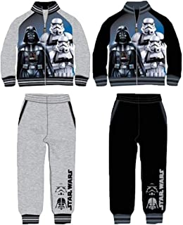 Chándal Deportivo Star Wars Colores Negro y Gris algodón Afelpado ...