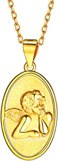 Best lucky angel coin pendant Reviews