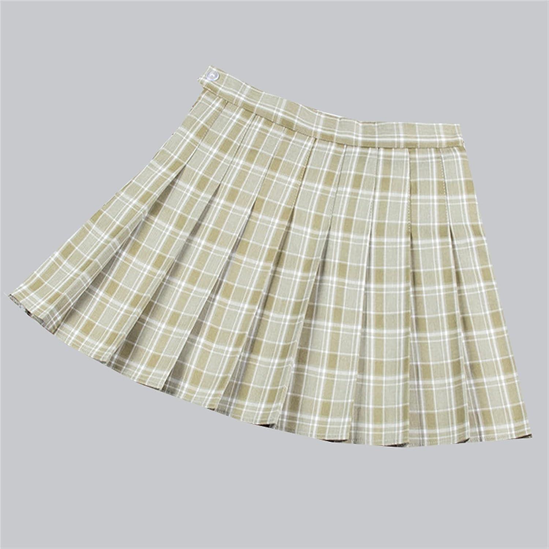 Jacksonville Mall HAODA Women Outlook Fashion Plaid Style Charlotte Mall Preppy Skirt