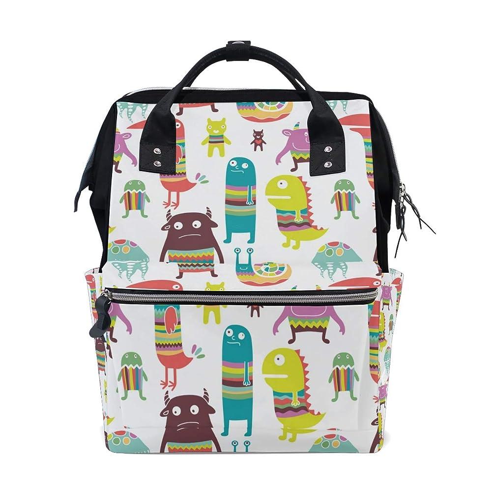 Backpack Cartoon Anime Monsters Animal School Rucksack Diaper Bags Travel Shoulder Large Capacity Bookbag for Women Men