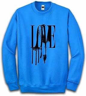 Fox Republic LOVE ラブ ロゴ オーシャンブルー キッズ スウェット 110cm