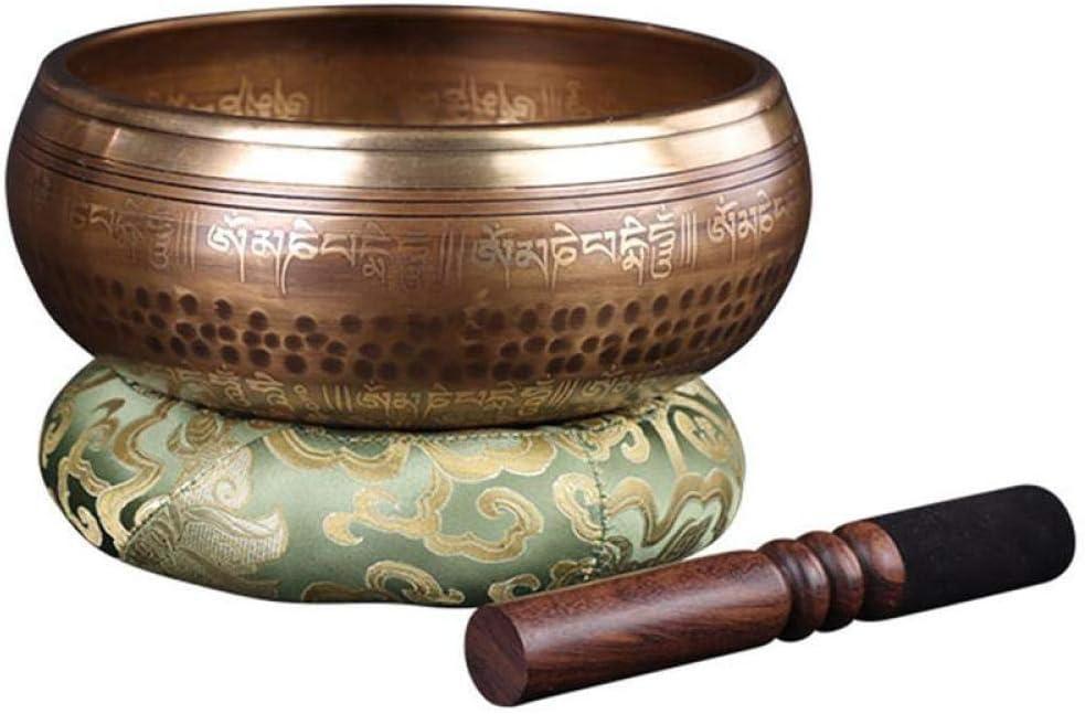 WANG XIAO Tibetan Singing Bowl Hammered Hand B Max 53% OFF 3.5