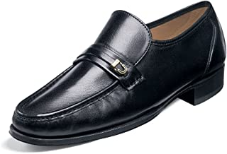 Florsheim mens Como loafers shoes, Black, 10 Narrow US