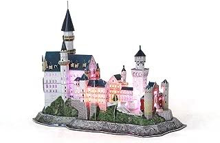 Daron Neuschwanstein Castle Led 3D Puzzle (128-Piece)