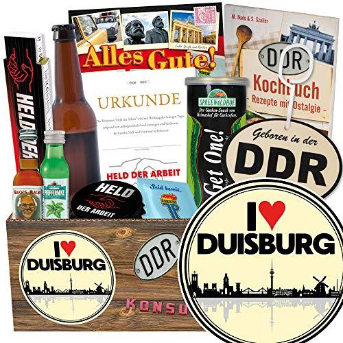 I love Duisburg / Nostalgiebox Männer / Duisburg Geburtstagsüberraschung