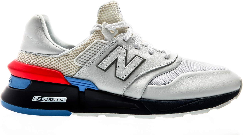 New Balance MS997 HE Weiß Blau rot