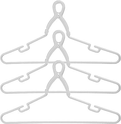 サワフジ 洗濯干し アライール 洗濯ハンガー グリップハンガー ワイド 45.5cm 3本セット [洗濯干し/グリップ式/キャッチ式ハンガー/大き目サイズ/物干しハンガー/幅広] ホワイト GPL-03A