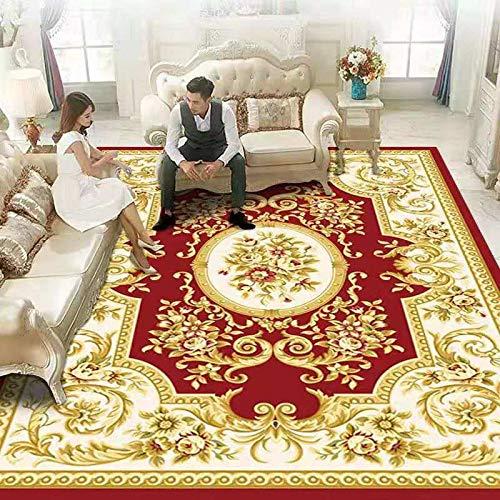 DJUX Alfombra de Salón Gran Tamaño - Pelo Largo Alfombra de Salon y Dormitorio, Suave y Moderna,120x180cm