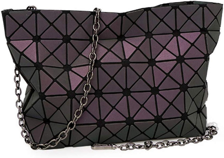 Famous Bao Bags Women Diamond Lattice Fold Over Bags Women H bags Small Chain Shoulder Bags Messenger Bag