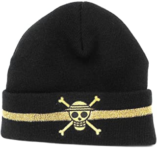 Ripple Junction One Piece Straw Hat Skull Watchmen Beanie