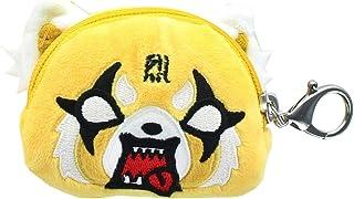 GUND Aggretsuko Face Pouch Keychain