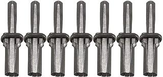 Nrpfell Sju set nya stendelare 9/16 tum metallplugg kilar och fjädrar mellanrum betongdelare handverktyg