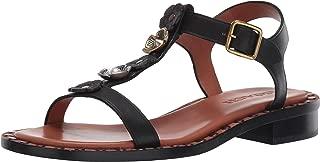 Women's Tea Rose T Strap Sandal - Leather