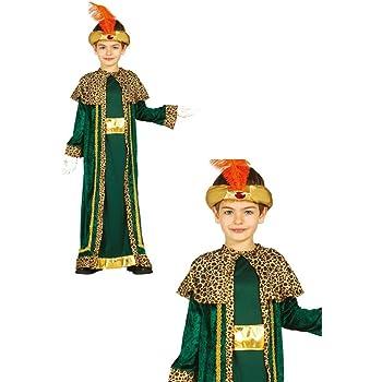 Disfraz de Rey Gaspar infantil 10-12: Amazon.es: Juguetes y juegos