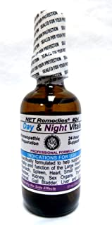 NET Remedies #24 Day & Night Vitals (59ml Oral Liquid with Spray Top)