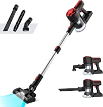 Advwin Vacuum Cleaner Cordless, Strong Suction 3 in 1 Powerful Filter Handheld Wireless Vacuum Cleaner with LED Light+Wall...