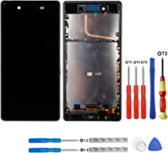 E-yiiviil LCD Display Touch Screen Digitizer Assembly Compatible for Sony Xperia Z4 Z3 Plus E6533 Z3+ E6553 5.2-Inch (Black)
