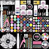 Morovan Acrylic Nail Kit - 42 in 1 Acrylic Powder and Liquid Set with Everything, Professional Acrylic Nail Extension Kit for Beginners