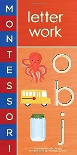 montessori alphabet order