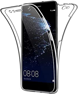 SDTEK Funda para Huawei P10 Lite 360 Doble Delantera