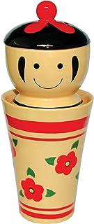サンアート おもしろ食器 「 こけしっ子 」 おつまみ入れ 器のセット タンブラー 385g SAN1768