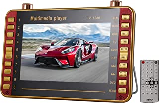 WZY EV-1288 Portable EVD Multimedia Player Play-Watching Machine with 9.8 inch HD LCD Screen & Remote Control
