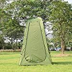 Explopur Camping Tent for Camping Biking Toilet Shower Beach 8