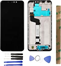 JayTong LCD Display & Replacement Touch Screen Digitizer Assembly with Free Tools for Xiaomi Redmi Note 6 Pro/Redmi Note 6pro Black with Frame